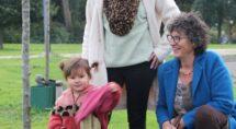 Ria Grootoonk met dochter Simone en kleindochter Poppy