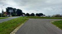 deel parallelweg vanaf rotonde
